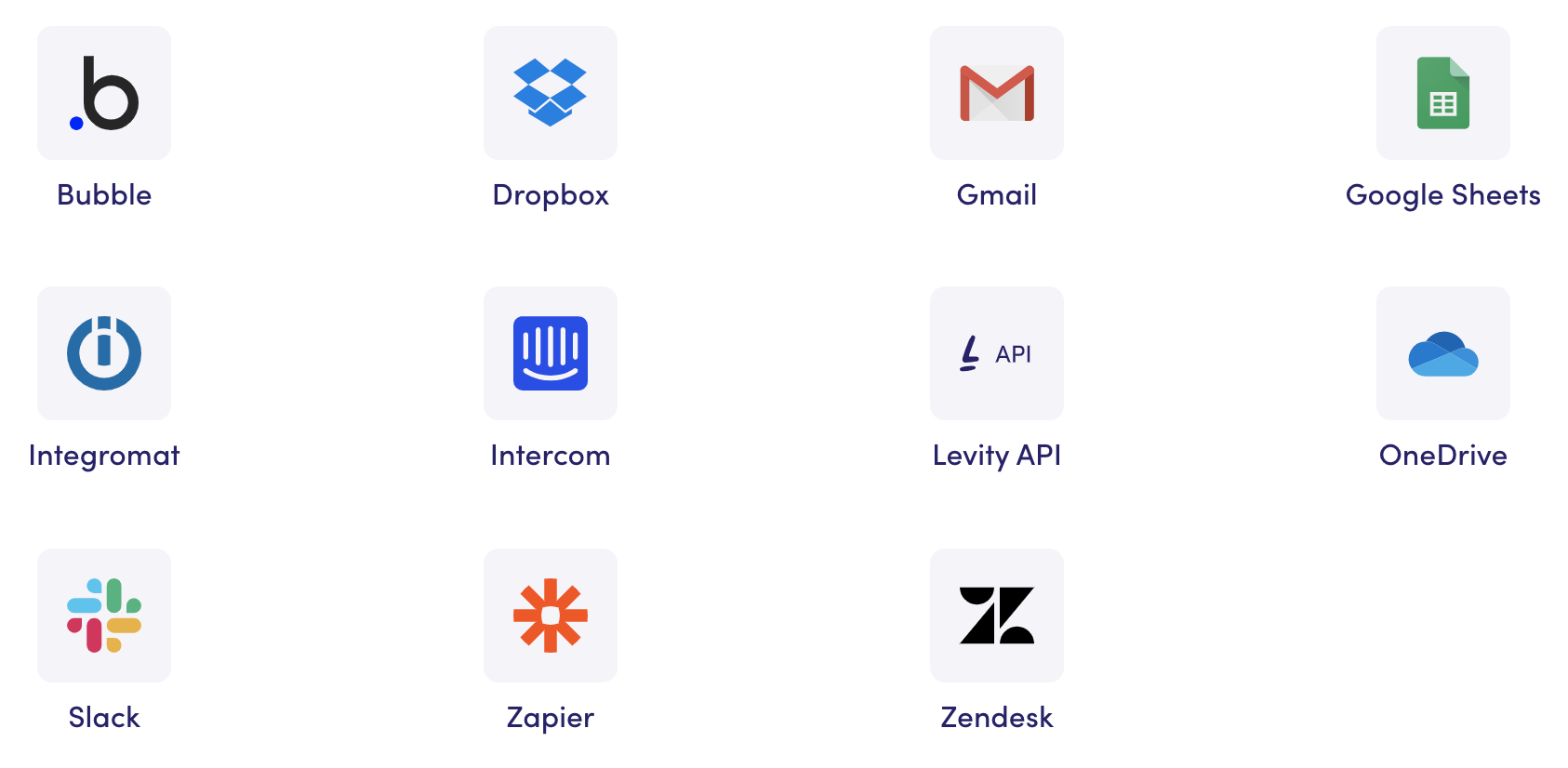Integrations are built with APIs, and most AIaaS providers build on these