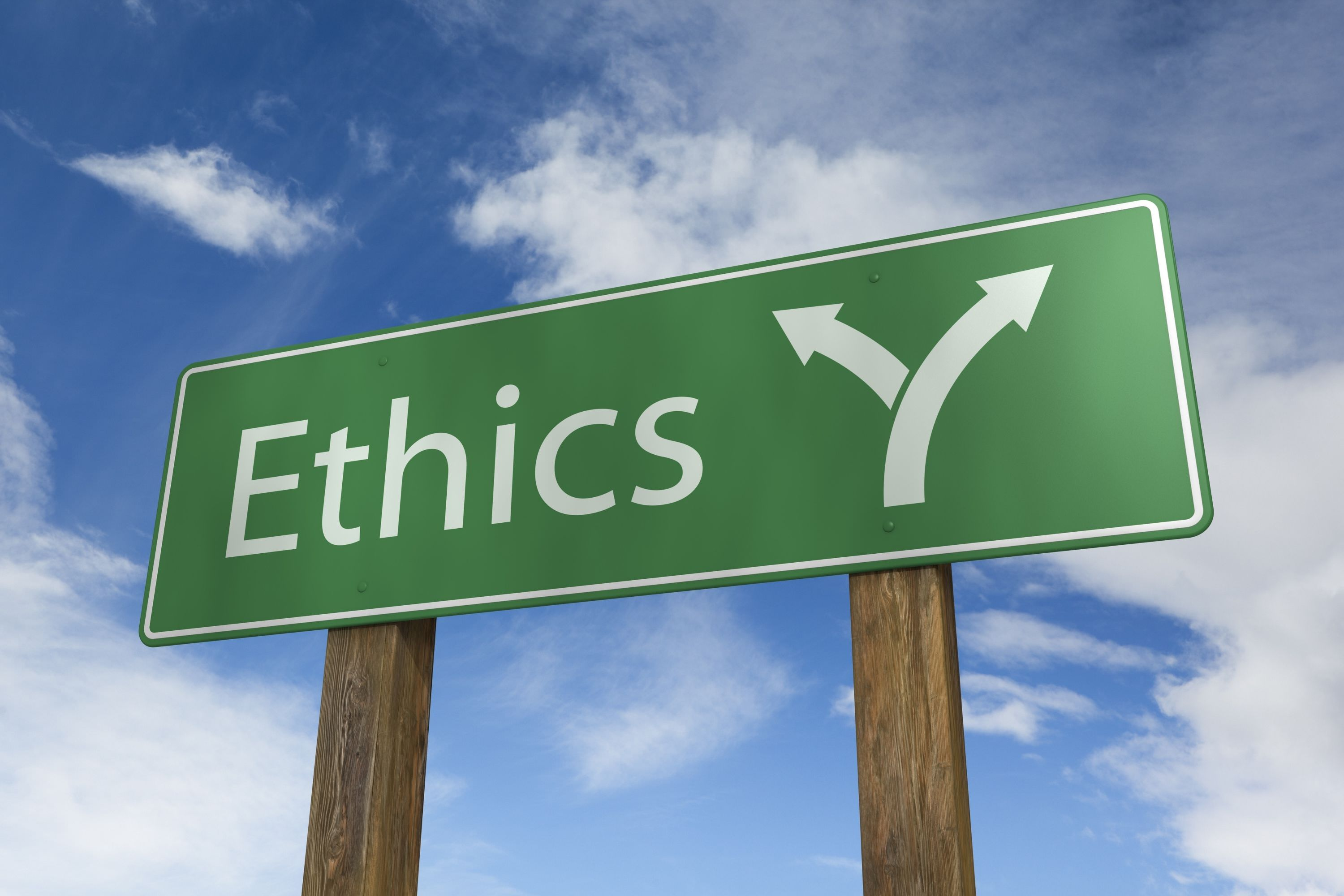 What is ethical AI in the context of a business?