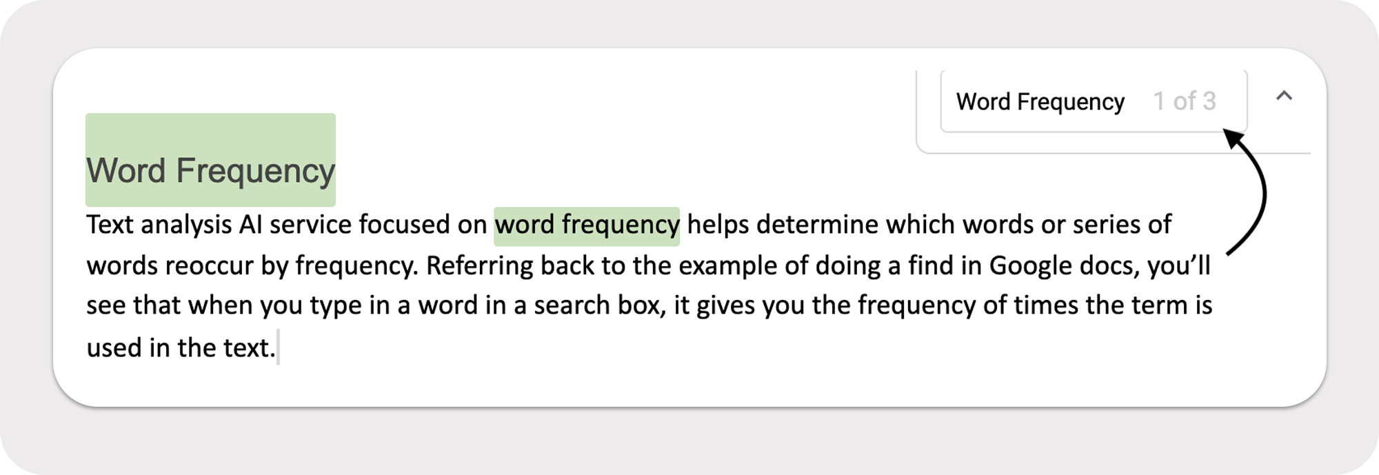 Word frequency - analyzing how frequently words appear in a text