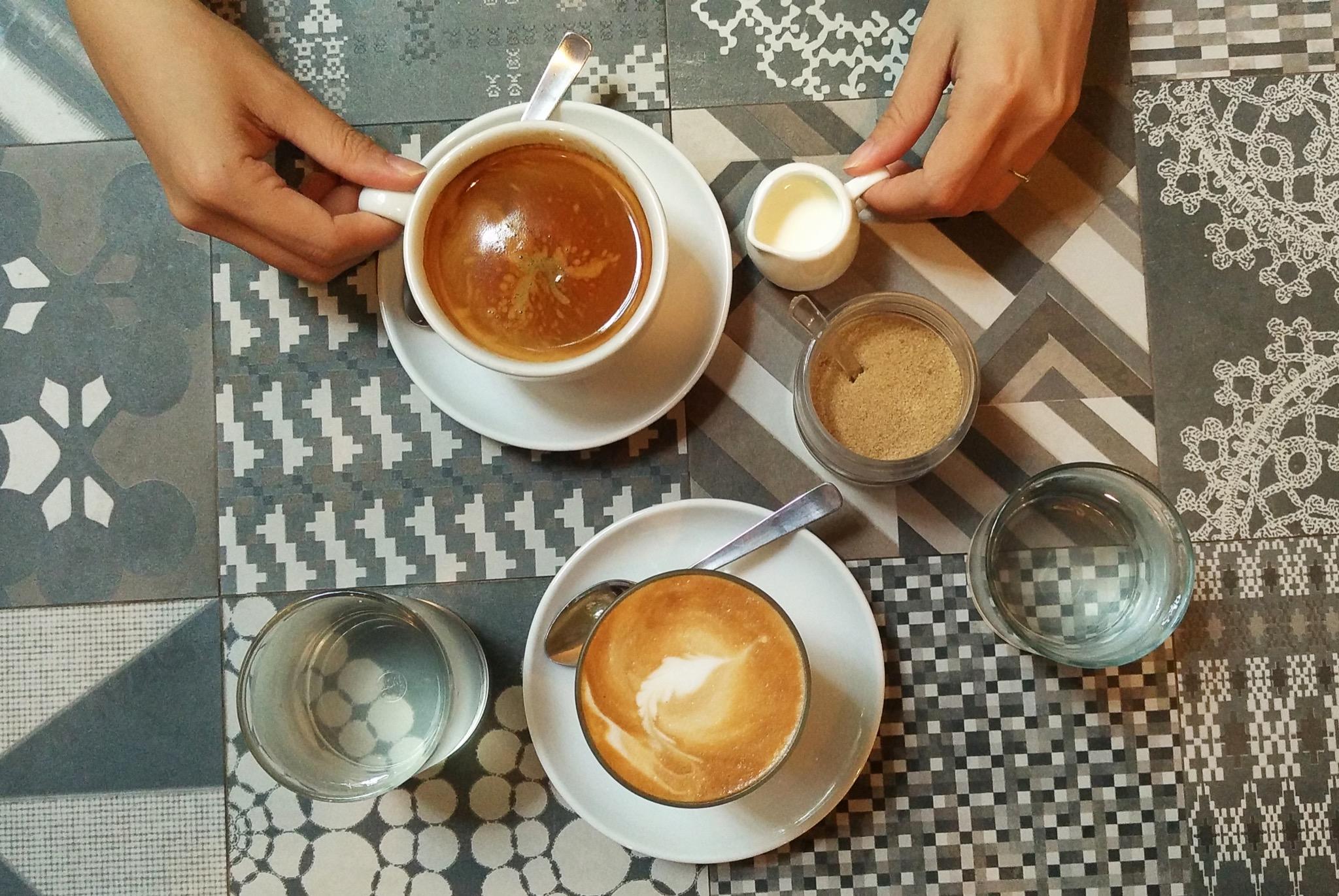 Stort kaffe og te sortiment av høy kvalitet!