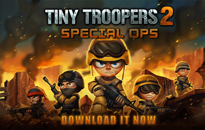 Tiny Troopers 2 Special Ops launches on Windows Phone