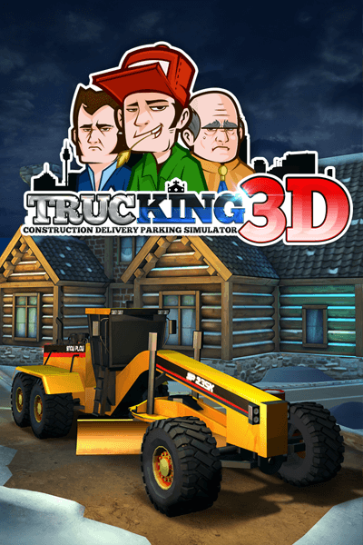 Trucking 3D! Construction Delivery Parking Simulator