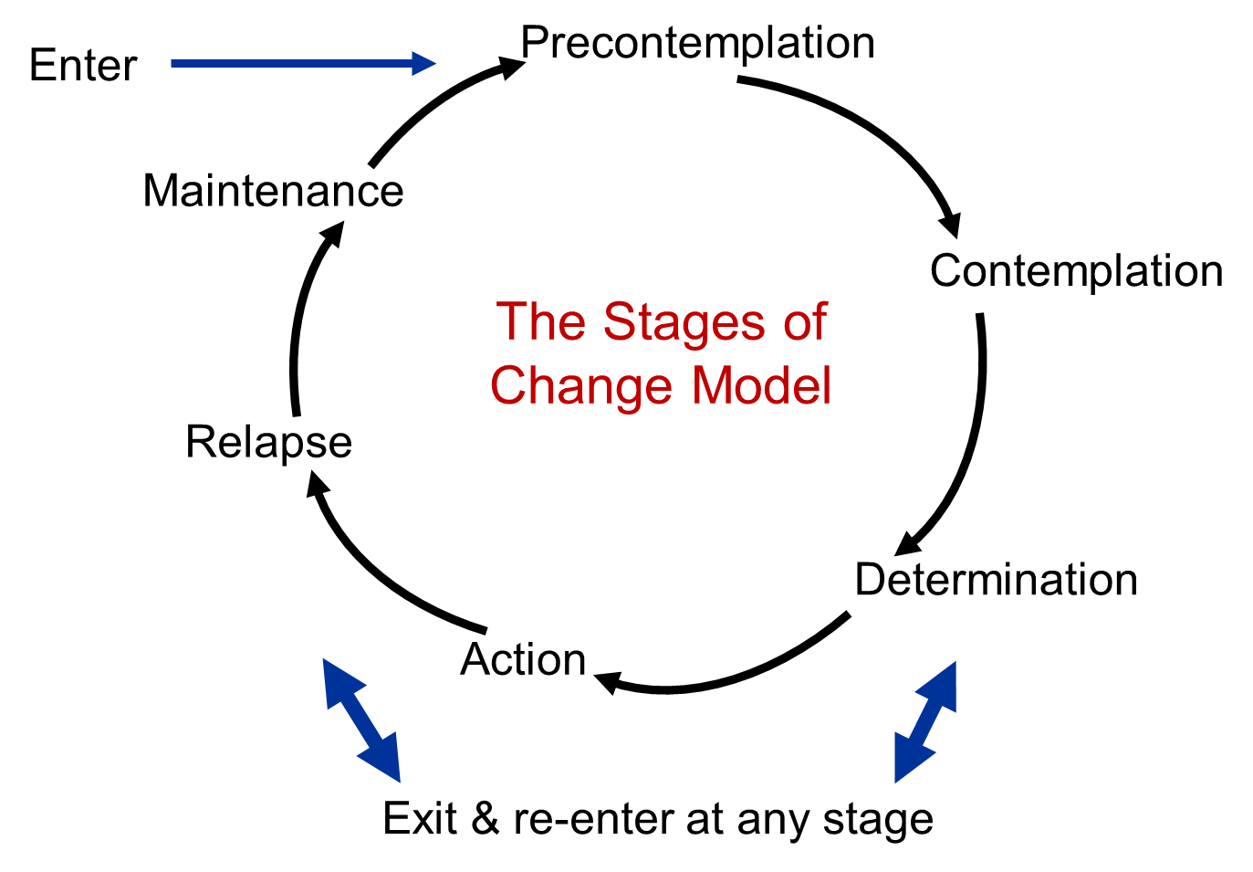 The Transtheoretical Model (Stages of Change)