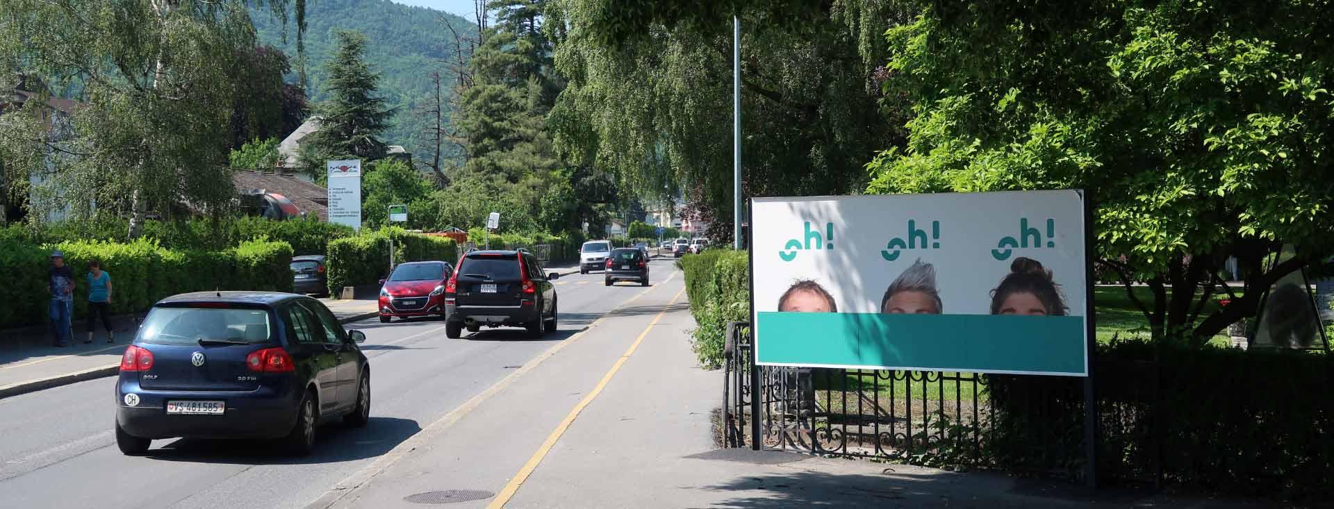 Affichage public : Horizon remporte l'appel d'offres du canton du Valais