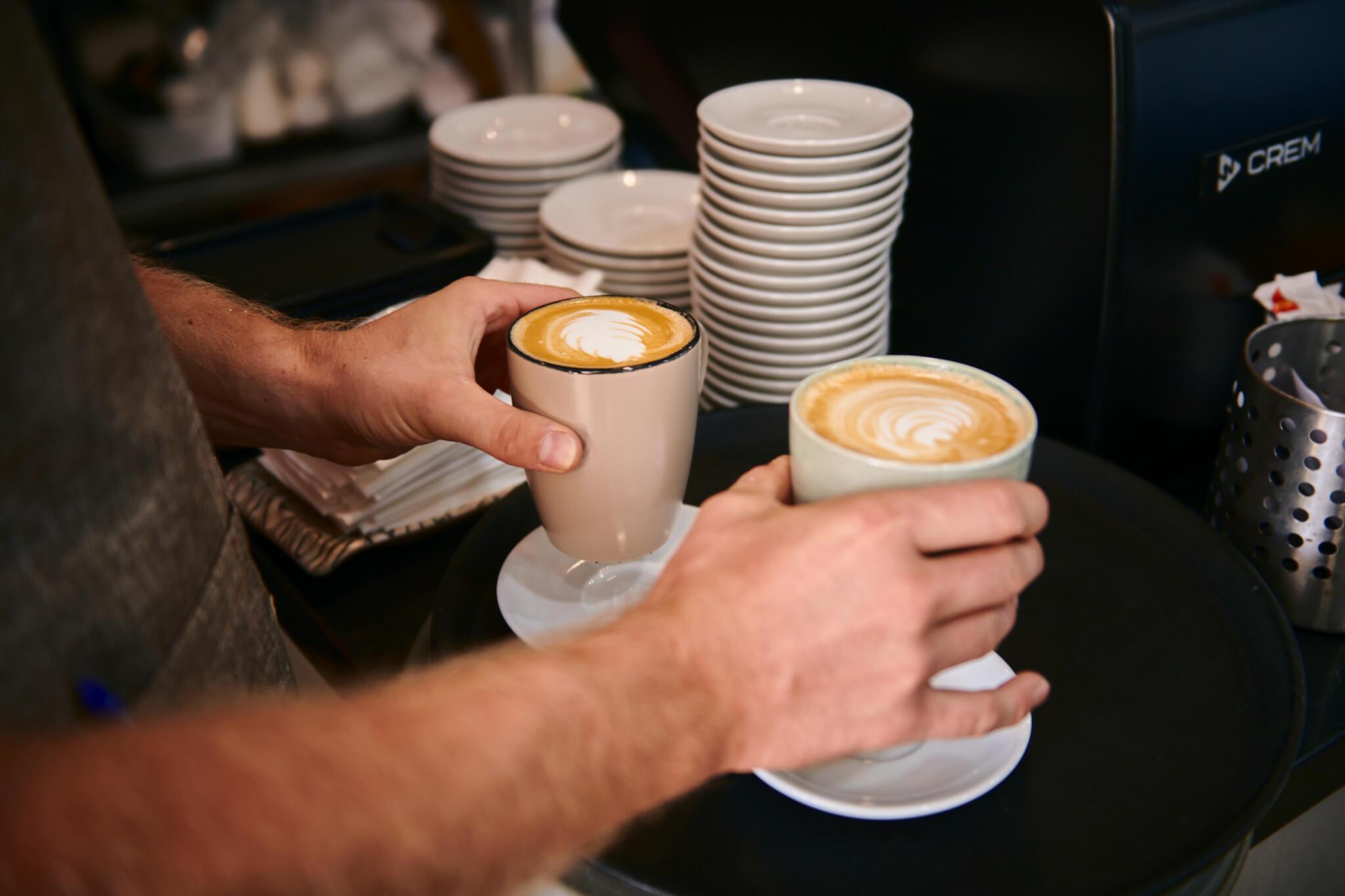 Prepared latte