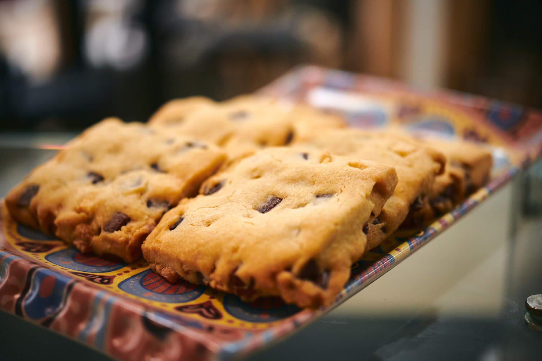 fresh baked cookies