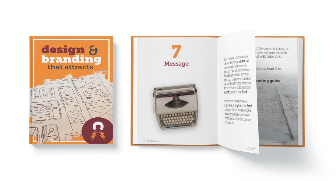 Electromagnetic Marketing offers a free ebook on design and branding
