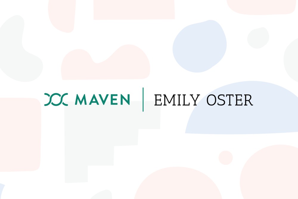 New tool: Maven partners with Emily Oster to help parents make child care decisions during COVID-19