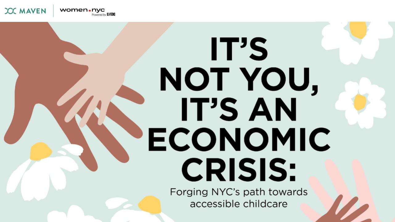 Webinar recap: It's not you, it's an economic crisis - Maven x women.nyc