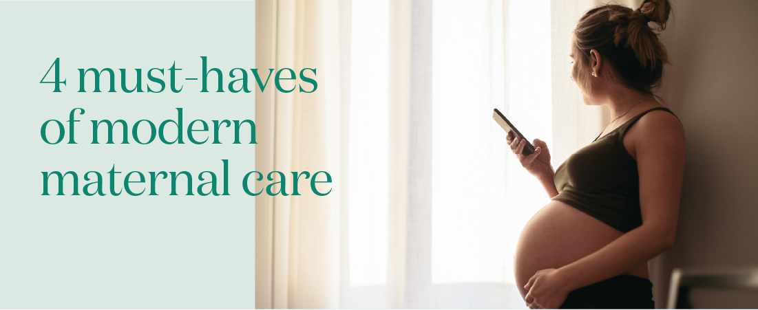 Taking maternal care into the future