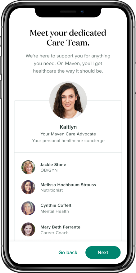 care team interface app