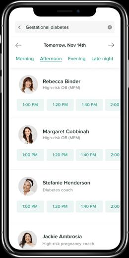 telemedicine interface app