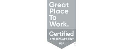 Great Place To Work Certified Apr 2021-2022