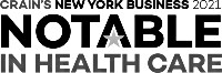 notable in health care logo
