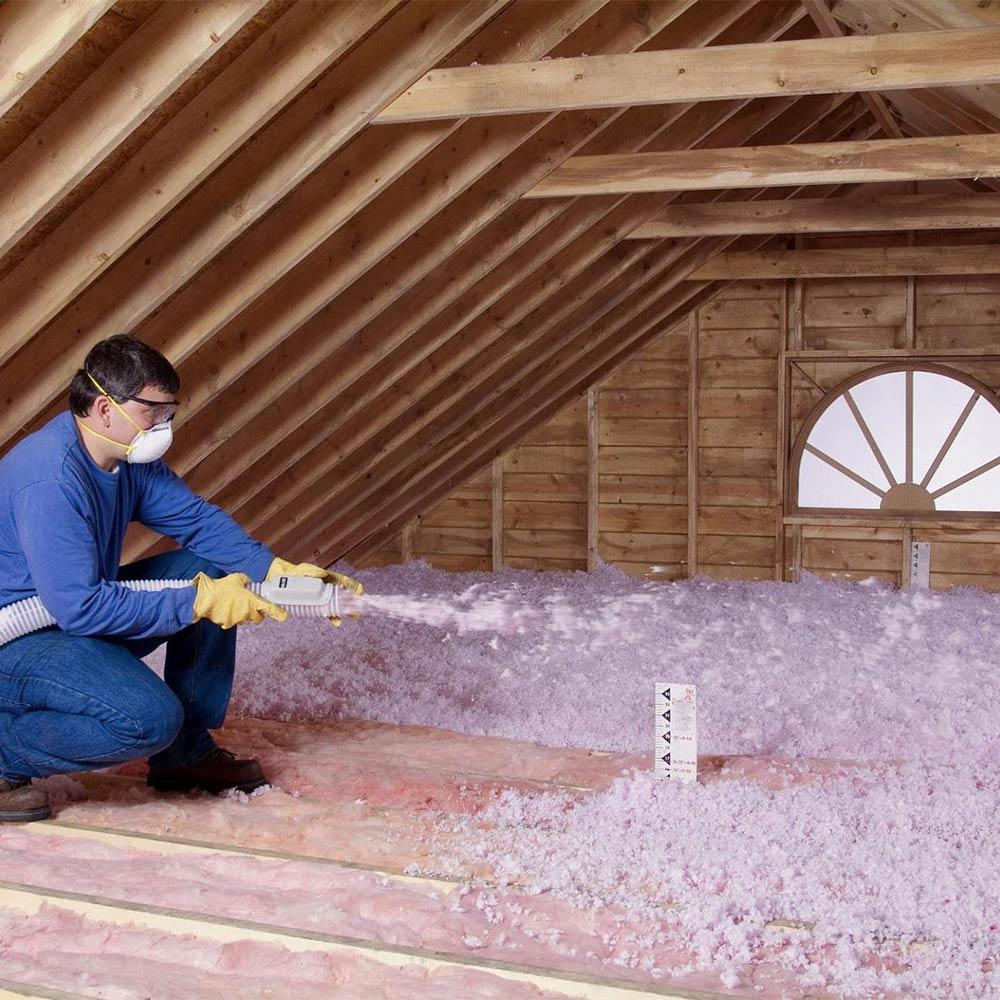 Attic insulation in Stockton, CA