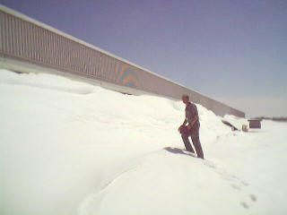 Most snow related losses occur at stepped elevations where blowing snow is carried from the roof of a higher building onto the roof of a lower building.