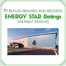 Butler measures and records ENERGY STAR Ratings on paint finishes.