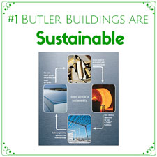 Butler Manufacturing works to incorporate sustainable practices into its products.