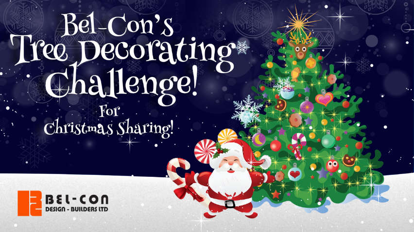 Bel-Con's Tree Decorating Challenge for #ChristmasSharing2020