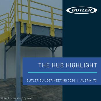 Butler Express Mezz Modular Mezzanine System