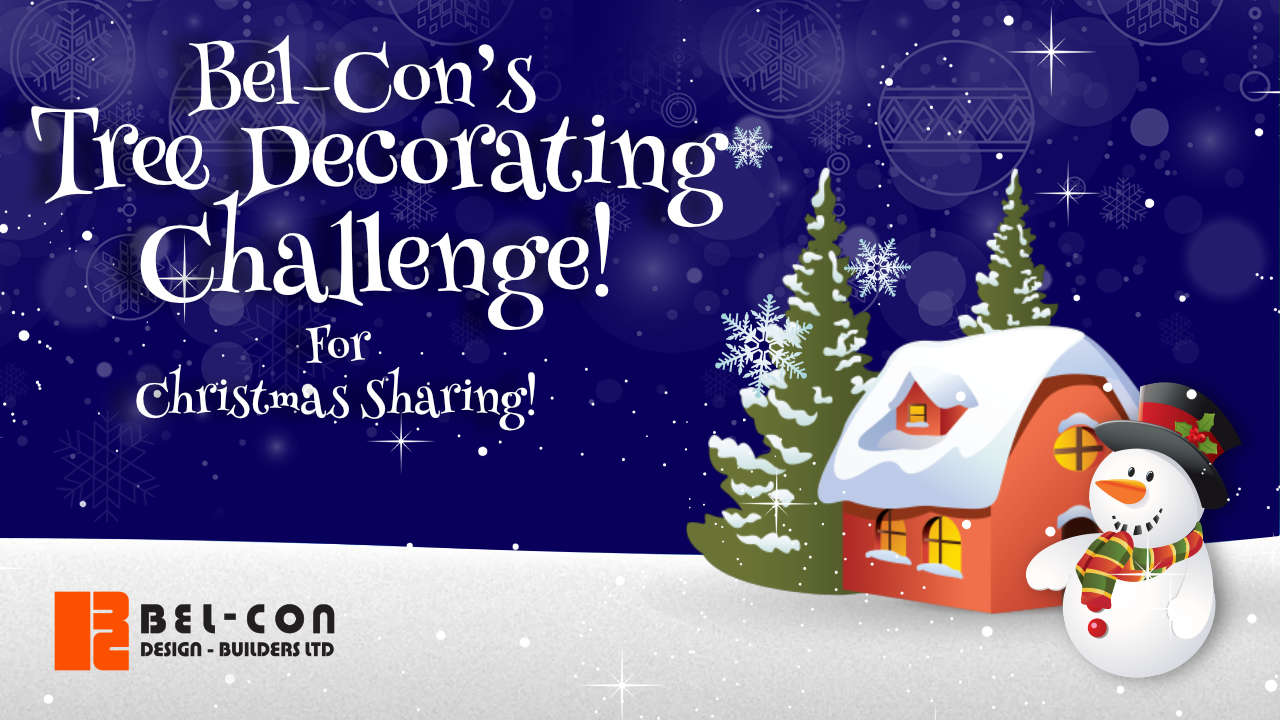 Bel-Con's Tree Decorating Challenge for #ChristmasSharing2019