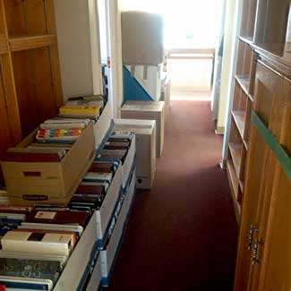 Packing up forty years of paperwork in preparation for the BIG move.