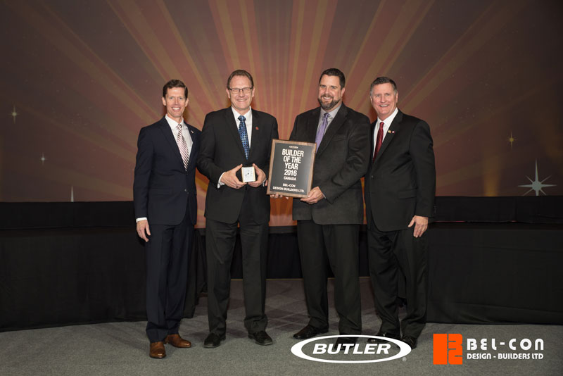 Butler Manufacturing Recognizes Bel-Con for Excellence