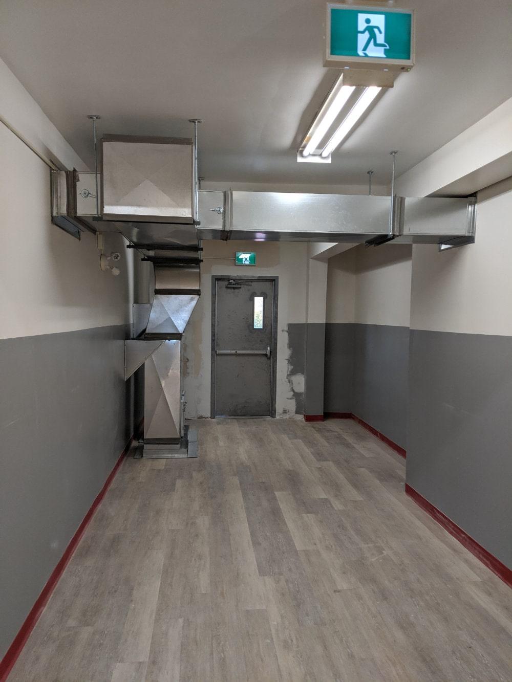 building interior under renovation