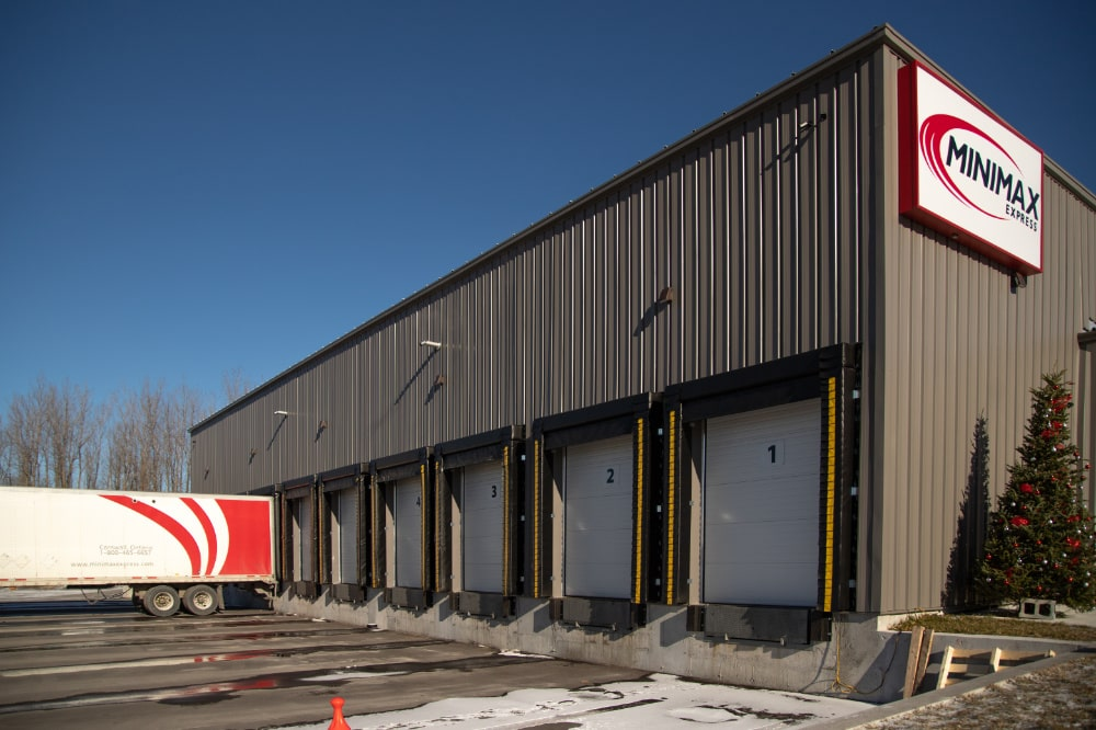 loading doors at Minimax Transport