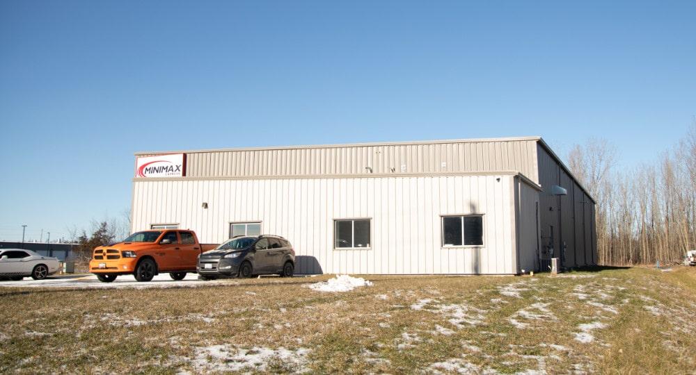 exterior of Minimax Transport in Belleville