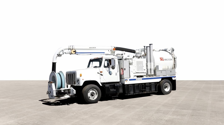 2001 International Navistar 2554 4x2 Vac-Con Truck For Sale