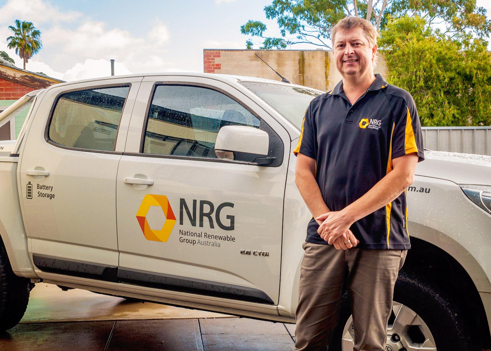 NRG solar technician