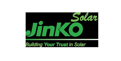Jinko company logo.