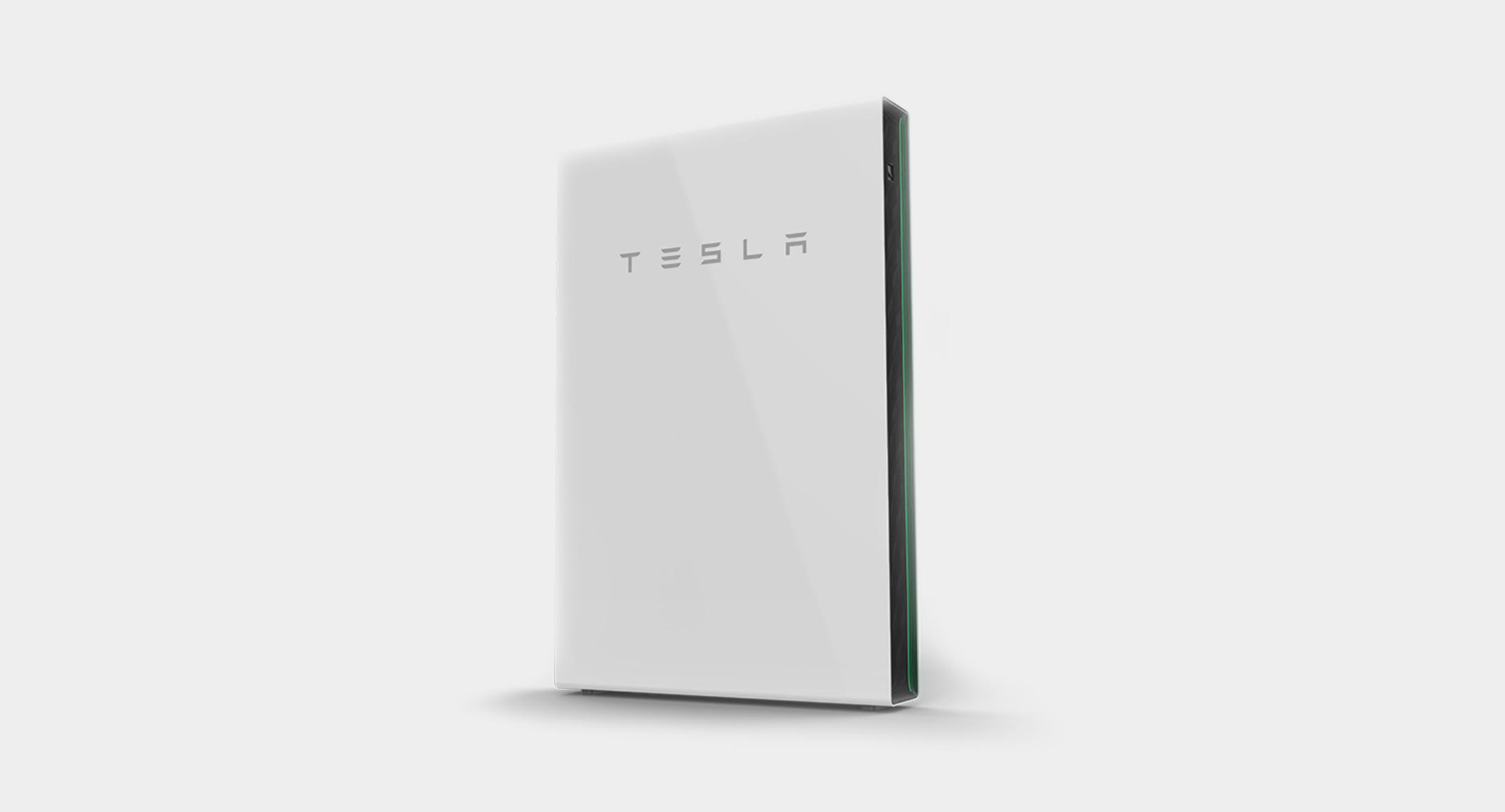 Tesla Solar battery system.