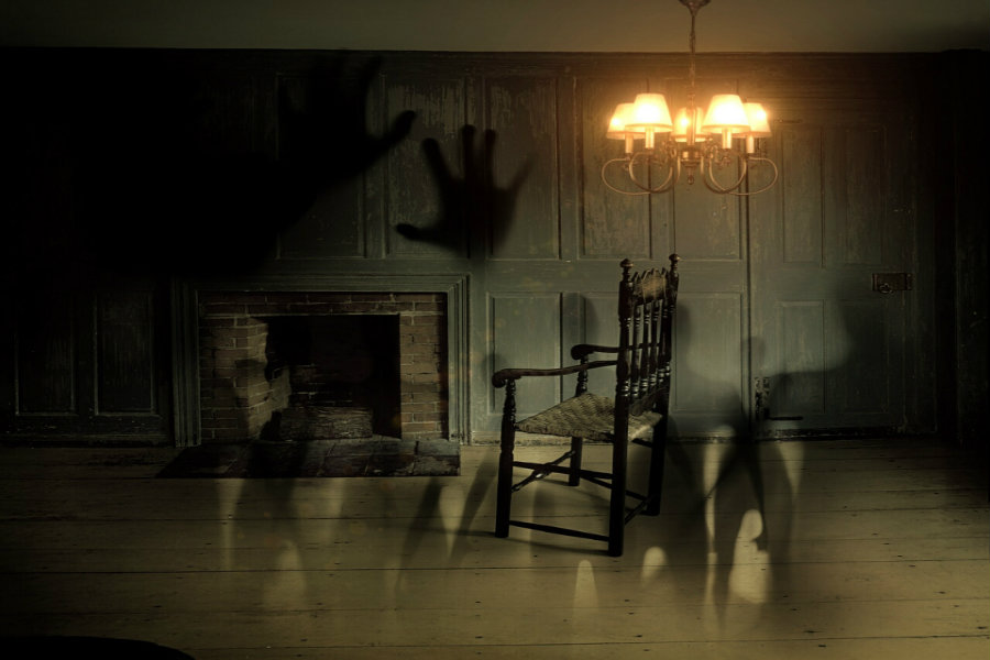 Encounter the Supernatural at Moss Mansion