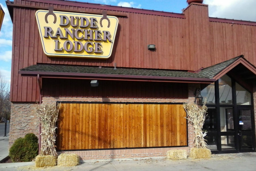 Join the Branding Wall Party at Dude Rancher Lodge