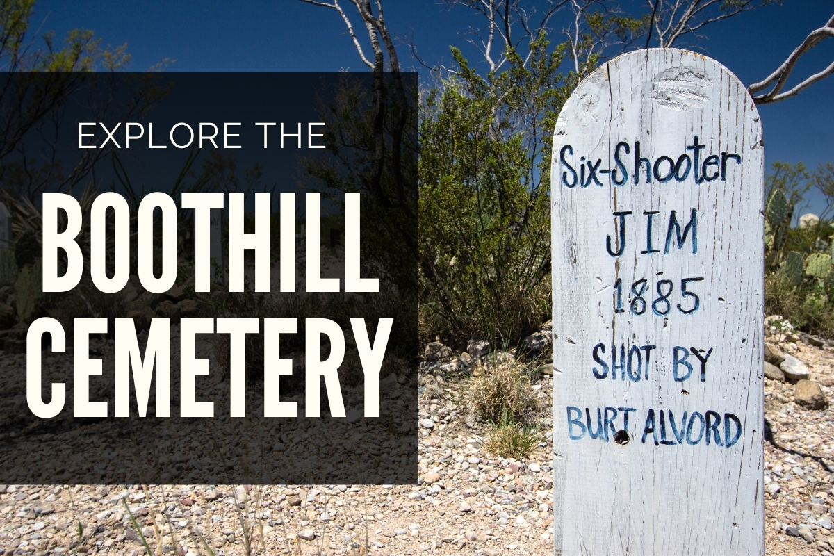 Gravestone on Boothill Cementery - Explore Boothill Cemetery