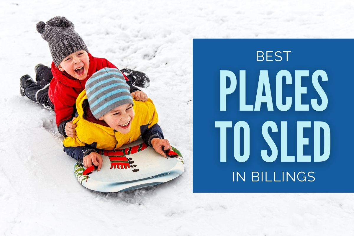Best Places to Sled in Billings