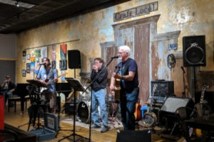 Band playing live at the Craft Local