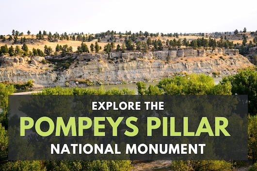 Pompeys Pillar National Monument View
