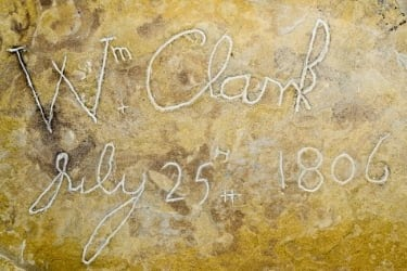 Captain Clark's Signature