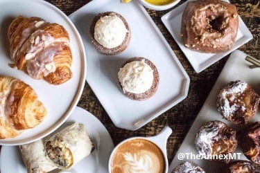 Desserts from The Annex Coffeehouse & Bakery