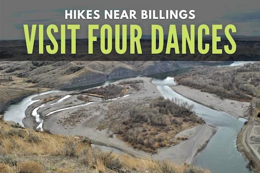 Hikes near Billings - Four Dances View