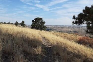 Four Dances hiking trail