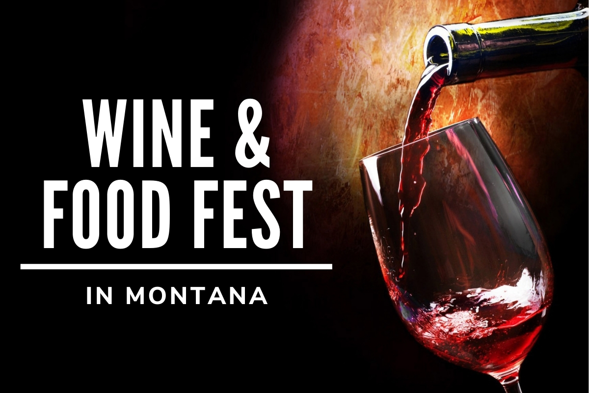 Wine & Food Fest in Montana - Glass of wine