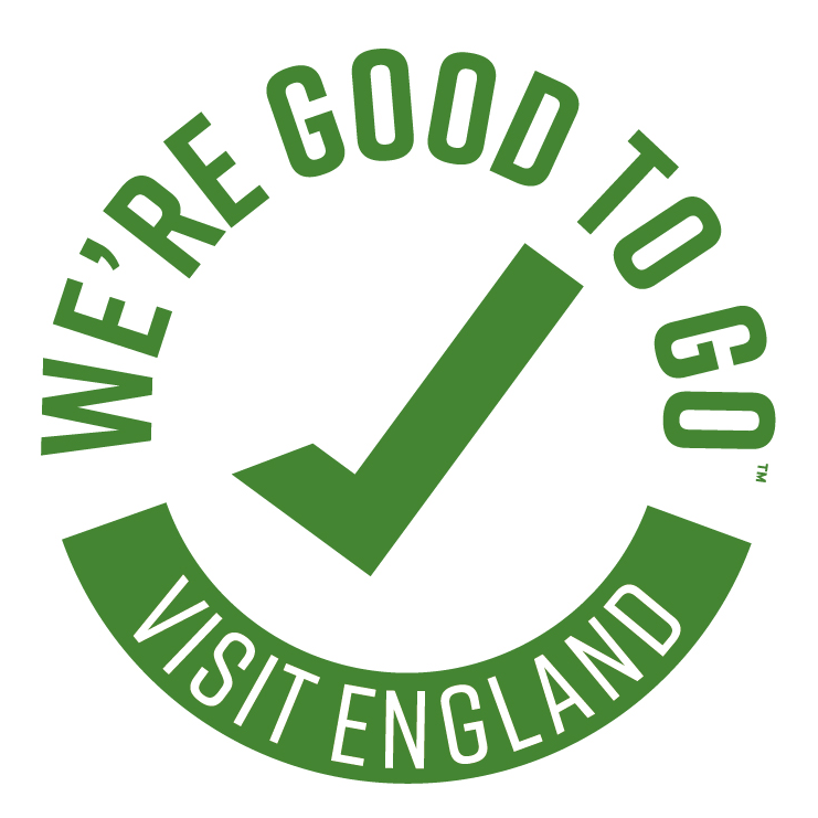 We're good to go visit England badge