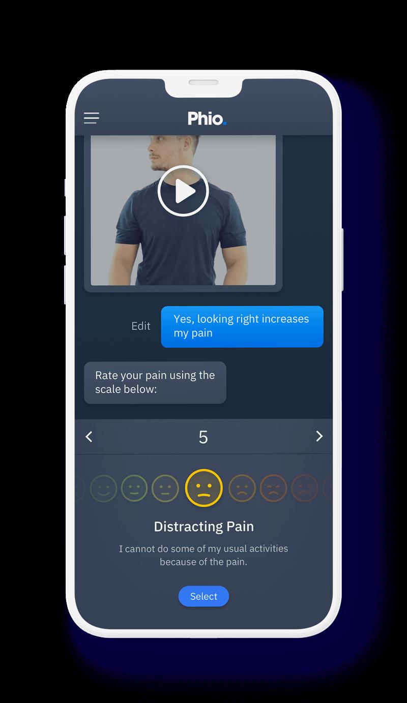 Phio access has a responsive UI that replicates human interaction