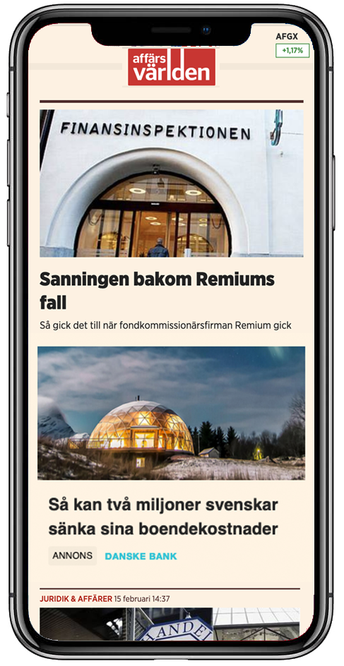 readpeak - native annonsering platform