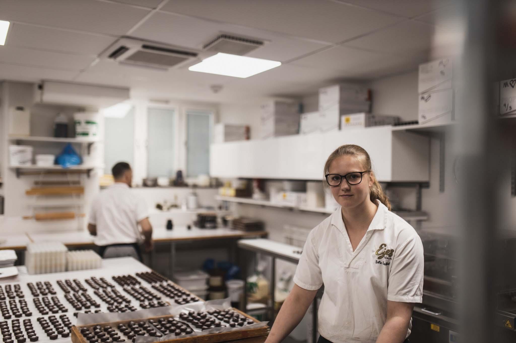 handjorda praliner ejes choklad