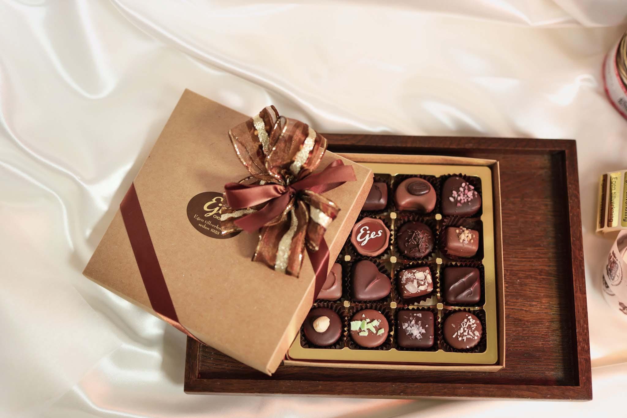 presentask ejes choklad